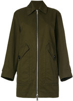 DSQUARED2 zipped military coat