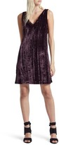 French Connection Women's Theresa Velvet Shift Dress