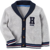 Carter's Cotton Varsity Hunk Cardigan, Baby Boys (0-24 months)