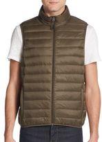Saks Fifth Avenue Packable Nylon Puffer Vest