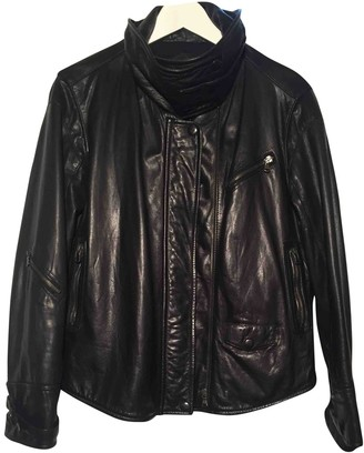 Barbara Bui Black Leather Leather Jacket for Women