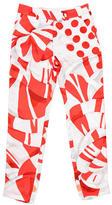 Fendi Silk Printed Pants