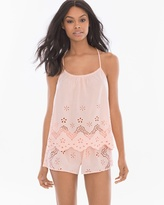 Soma Intimates Idlewild Cotton Cami/Shorts Pajama Set