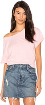 Joe's Jeans Hunter Crop Tee in Pink. - size XS (also in )