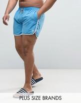 Duke PLUS Swim Shorts In Light Blue