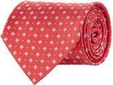 Stefano Ricci Square Print Silk Tie