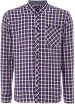 Merc Merc Long Sleeve Checked Shirt