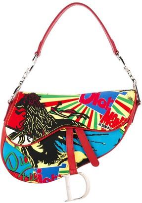 Christian Dior Pre-Owned Reggae saddle tote