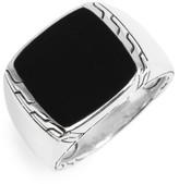 John Hardy Men's Classic Chain Signet Ring