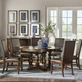 Kingsley Darby Home Co 7 Piece Dining Set Darby Home Co Upholstery Color: Beige