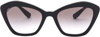 Miu Miu Cat Eye Frame Sunglasses