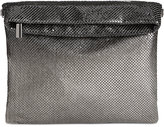 INC International Concepts Ombré Mesh Foldover Clutch, Created for Macy's