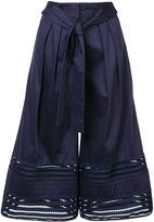 Zac Posen 'Fia' culottes - women - Cotton/Rayon/polyester - 0