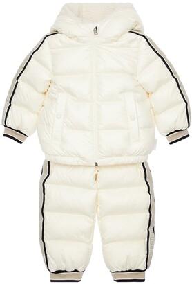 Moncler Nylon Laque Down Jacket & Pants