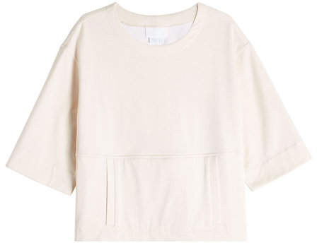 DKNY Cotton Top with Front Pocket