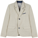 Jean Bourget Linen-Blend Suit Jacket