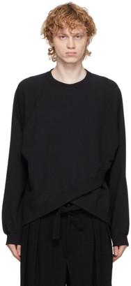 SASQUATCHfabrix. Black Bolero Sweatshirt