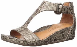 Gentle Souls by Kenneth Cole Women's Gisele Low Wedge T-Strap Sandal
