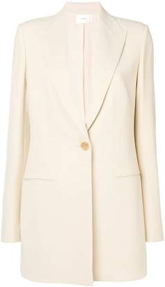 The Row single button straight blazer