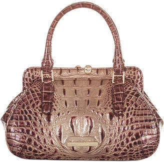 Brahmin Melbourne Embossed Leather Mini Layla Satchel