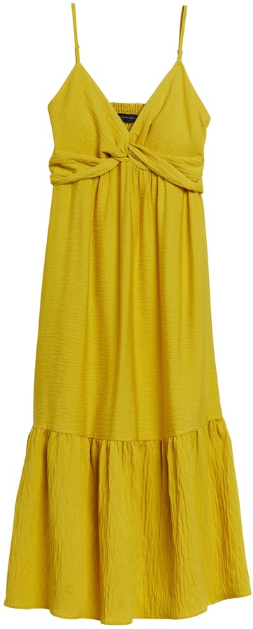Banana Republic Twist-Front Midi Dress