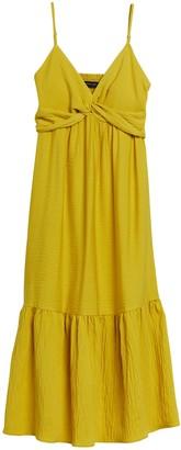 Banana Republic Twist-Front Maxi Dress