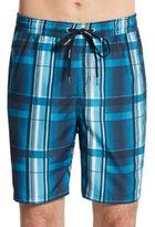 Calvin Klein Plaid Swim Shorts