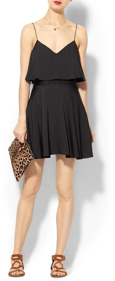 Milly Flared Tank Dress