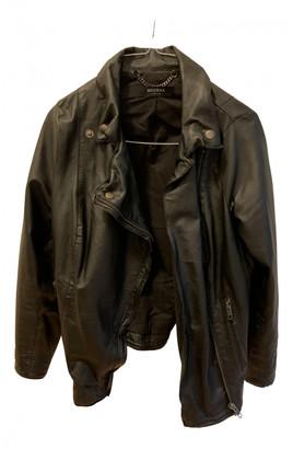 Muu Baa Muubaa Black Leather Leather jackets