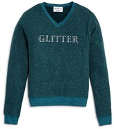Wildfox Couture Girls' Glitter Pullover - Big Kid