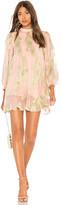 HEMANT AND NANDITA Shimmer Short Dress