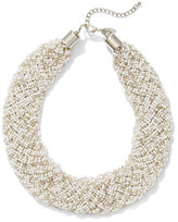 New York & Co. Seed Bead Collar Necklace