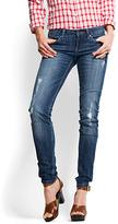 MANGO Decorative ripped jean