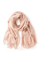 Country Road Grid Wool Scarf