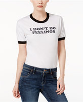 Kid Dangerous Cotton I Don't Do Feelings Graphic T-Shirt