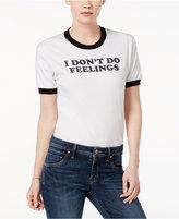 Kid Dangerous Cotton I Don't Do Feelings Graphic T-Shirt