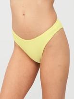 Very Mix & Match High Leg Bikini Brief - Lemon