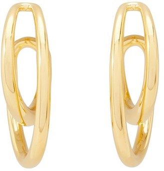 Charlotte Chesnais Initial hoop earrings