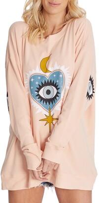 Wildfox Couture Roadtrip Good Eye Graphic Sweatshirt