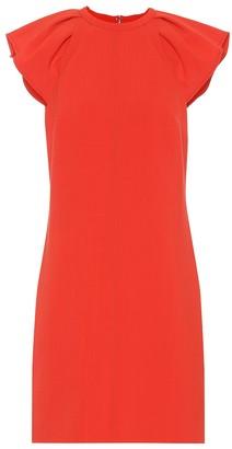 Victoria Victoria Beckham Exclusive to Mytheresa a wool-blend dress