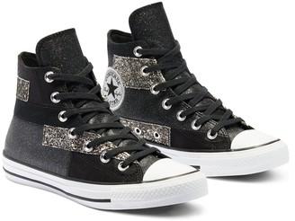 Converse Chuck Taylor All Star Glitter Hi-Tops - Black