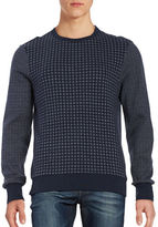 Ben Sherman Contrast Crewneck Sweater