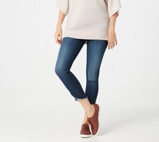 JEN7 by 7 For All Mankind Scalloped Hem Ankle Jeans- NighttimeHudson