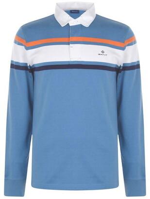 Gant Stripe Rugger Polo Shirt