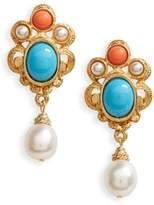 Ben-Amun Women's Adriatic Sea Drop Earrings