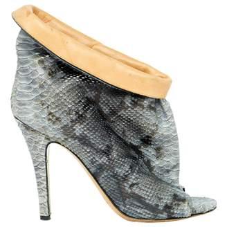 Maison Margiela \N Grey Python High Heel