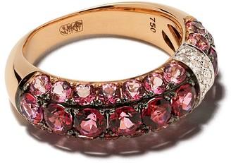 Brumani 18kt gold diamond Yara ring