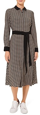 Hobbs London Alison Printed Shirt Dress