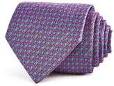Turnbull & Asser Geometric Floral Squares Neat Classic Tie