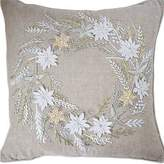 Gallery Wreath Cushion Hand Embroidered 40x40cm